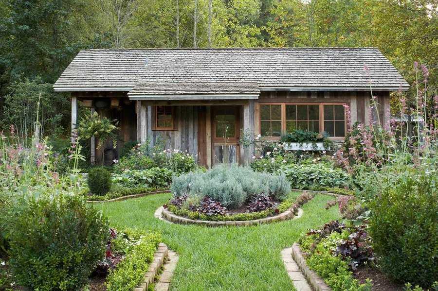 Сады в деревенском стиле